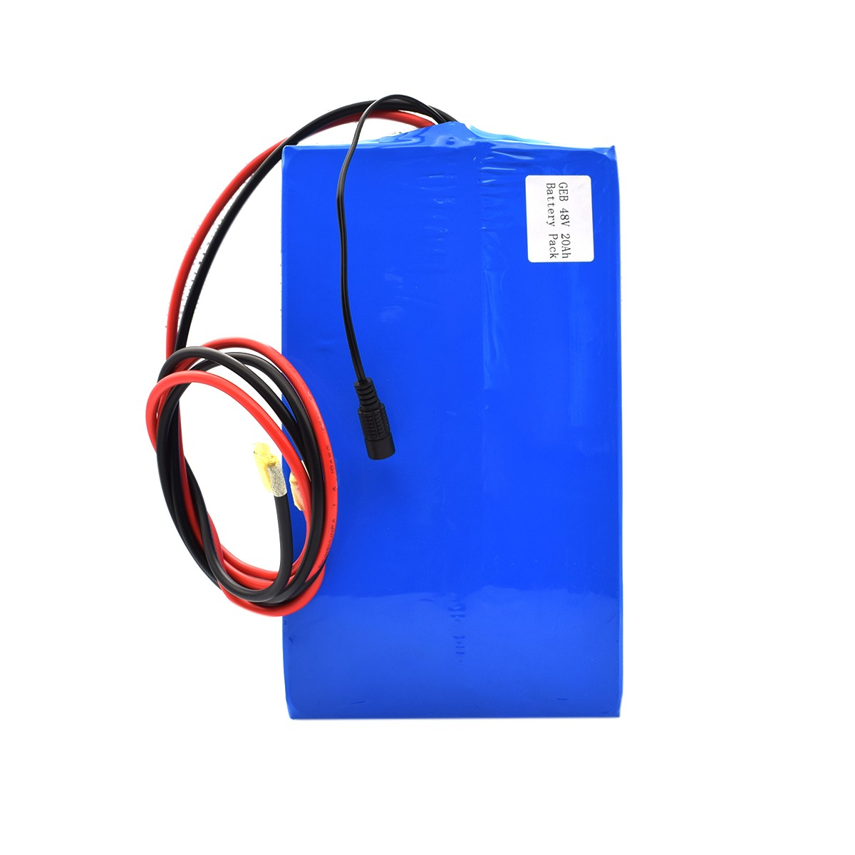 48V 20Ah rechargeable li-ion battery pack for electric vehicle